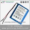 rechargeable li ion battery 18650 11.1v 2200mah ICR18650H-3S1P