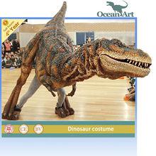 barney dinosaur mascot costume