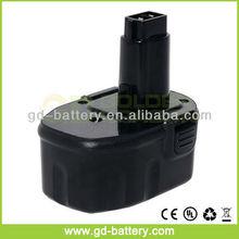 Dewalt 14.4V Power Tool Battery, Dewalt 14.4V NI-MH Battery, Dewalt DW9094 DW9091 DC9091