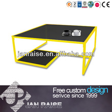 Colorful Coffee Table Glass Coffee Table Modern Coffee Table OK-6023Y