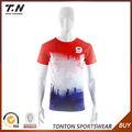 venta al por mayor nueva costumbre a diseño de los hombres camiseta de fútbol