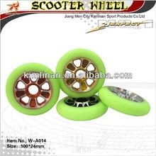 Good quality kick scooter wheels,110mm 100mm