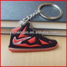 lebron james sneaker keychain/cheap sneaker keychains/mini sneakers keychain