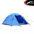 3 pessoas camping fibra pólo tenda dupla camada