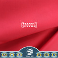 a promoção da china vermelha algodão sarja tecido para as mulheres de cozinha avental de cozinha