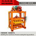 Qtj4-40 de concreto oco bloco que faz a máquina pavers bloco preço