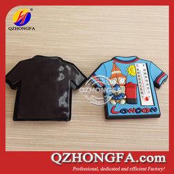 Rubber Magnet,T Shirt Soft PVC 3D Fridge Magnet For Home Decoration