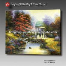 Thomas garden scenery oil painting design