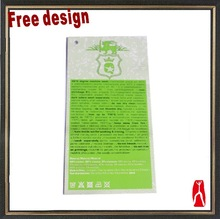 High quality custom garment hang tag and leather label design