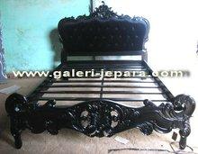 Bedroom Furniture - Luxury Wood - Black Painted Wooden Furniture - Furnitures Indonesia