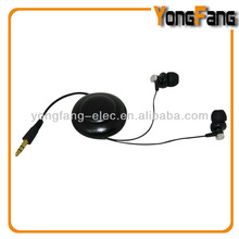 hot selling earphone with reel