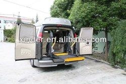 WL-D-880U Power Wheelchair Elevator for Van and Minivan