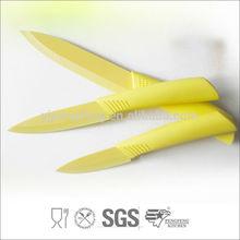 Best Quality 3pcs Sharpening Ceramic Kitchen Knife Set, Ceramic Knife