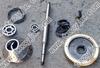 Spare parts for disk centrifuge