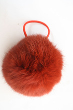 top quality rabbit fur pompon for garment and hats accessory