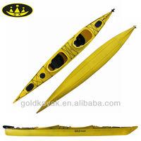 hot selling LLDPE double sea kayak/ ocean kayak