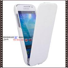 Ultra slim leather case for Samsung S4 Mini i9190