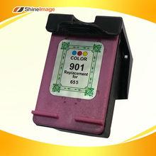 Color printer ink cartridge 901CXL for hp
