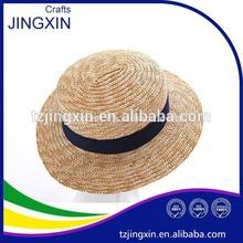 lady's bucket lady hat straw hat