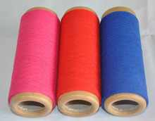 recycled polyester cotton cheap blended yarn