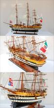 AMERIGO VESPUCI NEW DESIGN Wooden Historic Tall Ship Model
