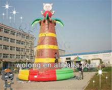 Beautiful sheep inflatable rock climbing products, Inflatable climbing