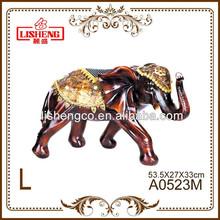 Wholesale indian antique elephant home resin decorative item A0523M