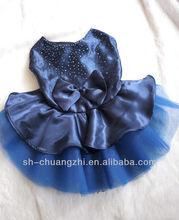 Blue Wedding dress for pet