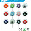 Hanging Ear Transparent Laptop Stereo Earphone For Mp3