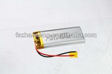 customized 3.7v li-ion polymer battery