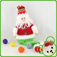 Wholesale mini santa claus children plush toy