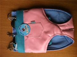 PU leather dog carrier bag