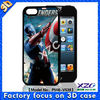 New 3D movie image mobile case for iphone 5