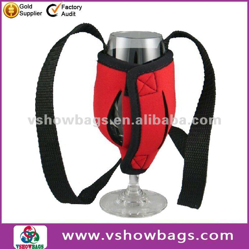 Neoprene Wine Glass Holder Neoprene Wine Glass Cup Holder