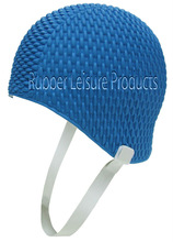 Bubble Crepe Swim Cap