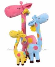Cute&Cheap Stuffed Plush Sika Deer Soft Toy giraffe teether
