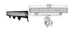 HOT SALE Guangzhou Sunwac 20inch CREE LED 126W Offroad LED Light Bar