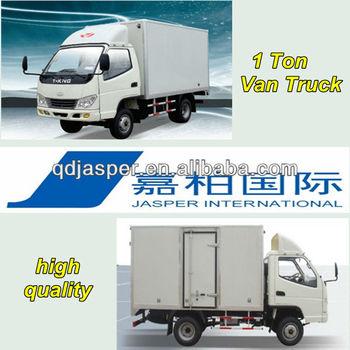 4x2 1 Ton Light Van Cargo Box Trucks