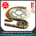 Birmânia hao jue motor elétrico roda dentada, cg 150 ks de motos e peças de reposição, boxer ct frente da roda dentada da motocicleta