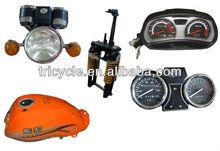 Front Suspension, Headlights, Speedometer, Fuel/Oil Tanks