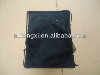 Wholesale Soccer Bag with Ball Compartment,Drawstring Soccer Ball Bag,Drawstring Football Bag