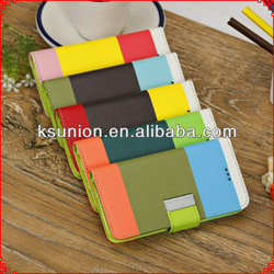 For apple iPhone 5C case, stand leather cover for iPhone 5C case