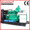 Biogás generador eléctrico 10kva-500kva