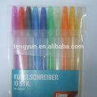 colorful ball pen,plastic ballpen 03005,promotion pen