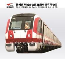 Metro vehicle, subway car, railway car