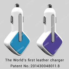 3.4A,4.2A,4.8A Colorful usb car charger electric cigarette lighter for iphone