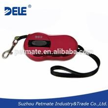 Luxury pet dog cat leash Automatic leash retractable dog lead leash For pet up to10kg 3m reflective bel