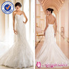 SA3248 sweetheart neckline strapless fashion wedding dress picture casual wedding dress