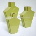 el diseño moderno de cerámica florero de la decoración