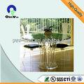 acrylique transparent pour dessus de table ronde clear feuille acrylique pour la table